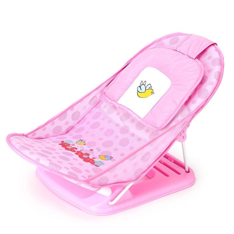 AIWIBI bébé supports de bain pliable bébés bains et jeunes enfants bain maille baignoire antidérapant