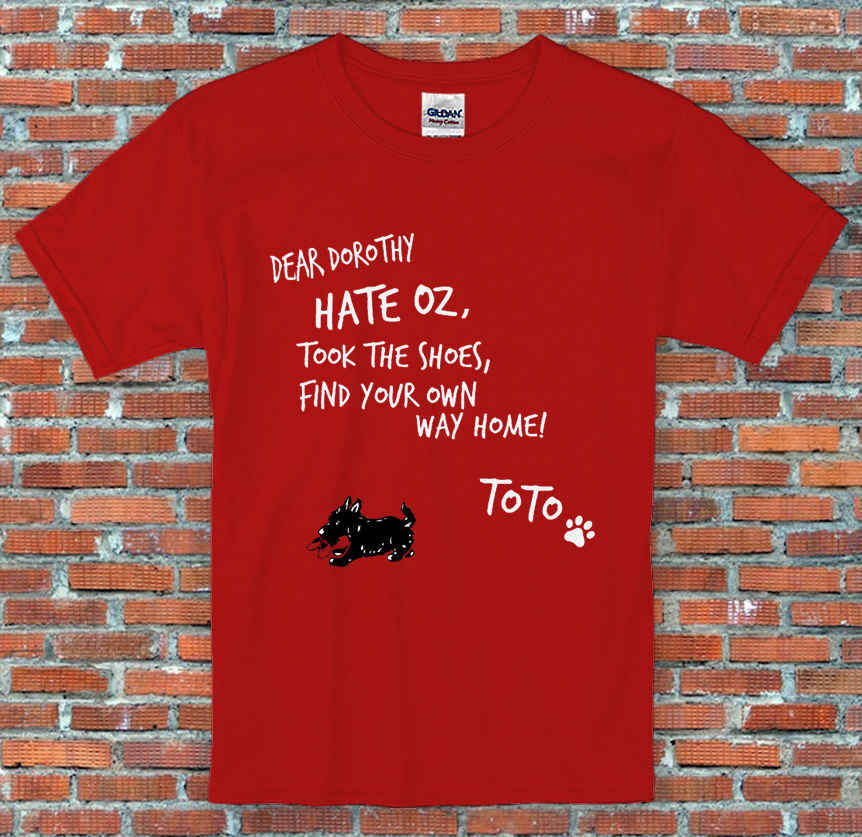 """Дорогой Дороти"", ретро, винтаж, фильм, Волшебник Оз, подарок, футболка S-2XL"