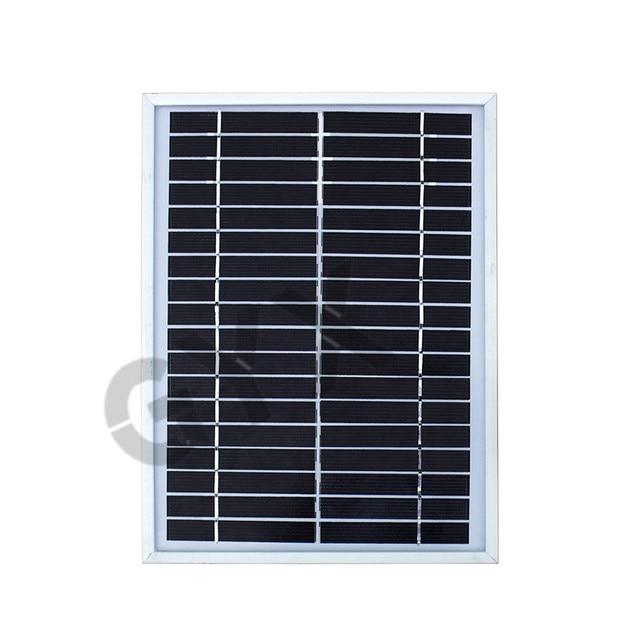 Home Solar Outdoor Lighting Supply Solar Panel Solar Light 12V40W Portable Solar Generator 5