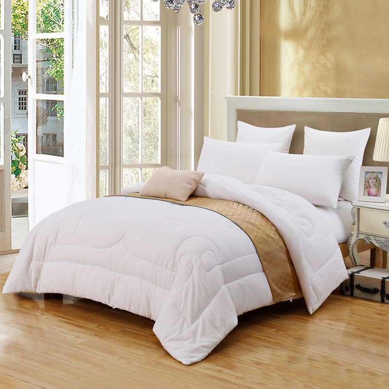 Luxury 100 cotton white comforter bedding set twin full queen king size adults kids throw for Full size bedroom sets for adults