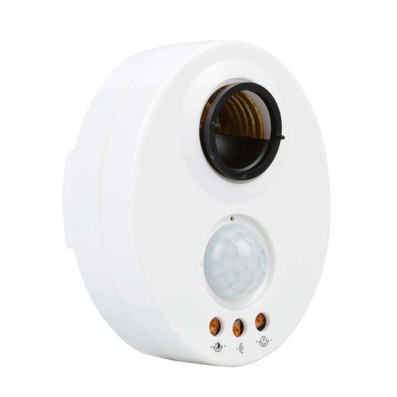 1pc Pir Sensor Switch 220v With Time Delay Indoor Outdoor