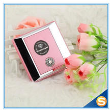 Hot Sale Plastic Compact Mirror for Pocket Size with Swarovski