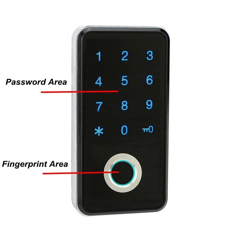 Fingerprint Password Combination Smart Lock 3