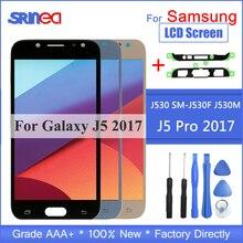 삼성 갤럭시 j5 2017 j530 j530f lcd 디스플레이 및 터치 스크린 디지타이저 어셈블리 밝기 조정 용 lcd