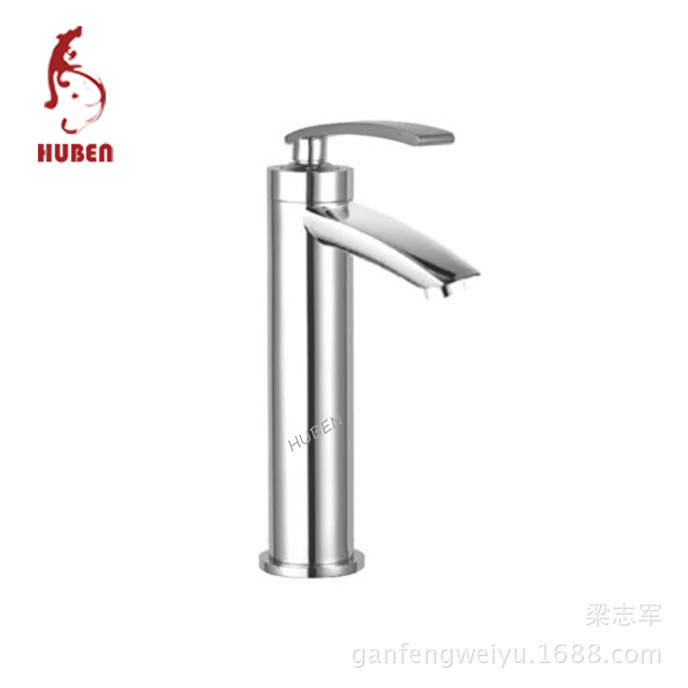 Tiger Ben bathroom basin faucet hot and cold taps all copper counter basin faucet washbasin heightening faucet hole