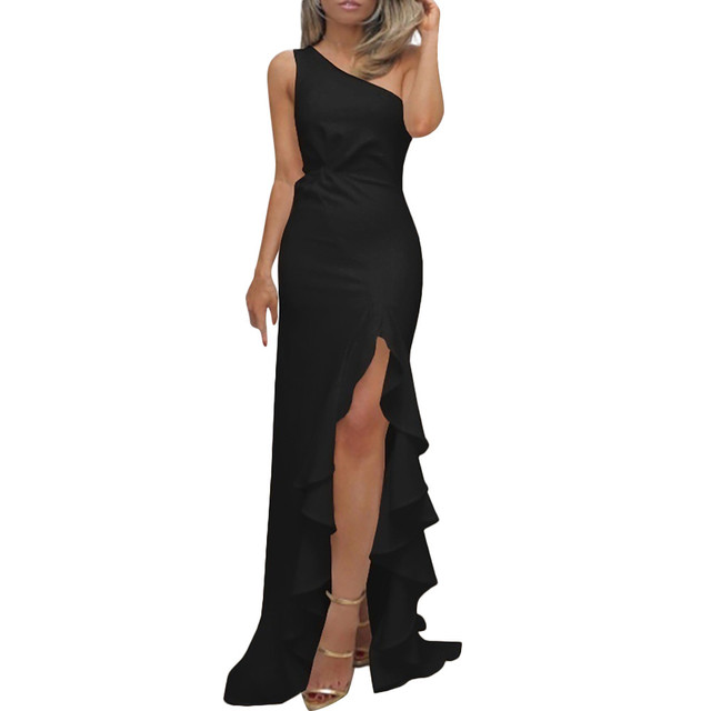 Ruched Formal Evening Dress 2