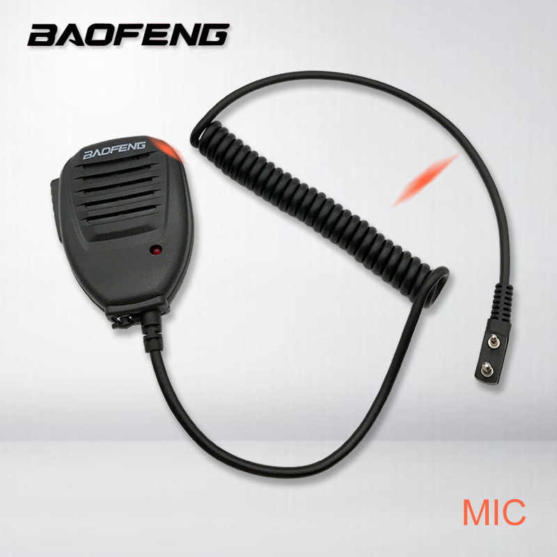 D'origine Baofeng Radio Haut-Parleur Microphone PTT pour Portable Radio Bidirectionnelle Talkie-walkie UV-5R UV-5RE UV-5RA Plus UV-6R