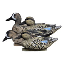 4 pcs Duck Decoy Hunting Decoys Plastic 3D Hunting Game Waterfowl feeder Blue-Winged Garden Home Decoration Hunter For Hunting russia hunting decoys wholesale outdoor hunting remote control 6v plastic drake with magnet spinning wings from xilei