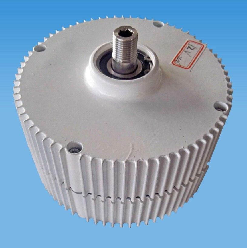 12 V 24 V démarrage à basse vitesse NdFeB 300 W générateur à aimant Permanent avec coque en aluminium pour éoliennes bricolage en vente en 2018