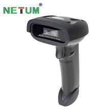 Wireless CCD Barcode Scanner,NETUM Handheld Bar code Reader (2.4GHz Wireless & USB2.0 Wired) for Mobile Screen Payment NT-1698C