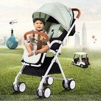 Luxury light portable baby stroller Bebek arabasi infant poussette stroller prams for newborns kinderwagens dropshipping