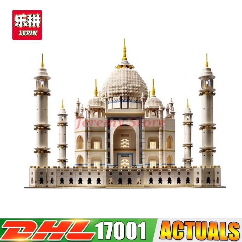 2017 IN STOCK Free shipping New LEPIN 17001 5952pcs The taj mahal Model Building Kits Brick Toys 10189 Christmas Gift new in stock skkd81 14