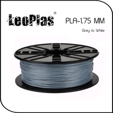 Worldwide Fast Delivery 3D Printer Material 1kg 2.2lb 1.75mm Temperature Sensitive Grey to White PLA Filament