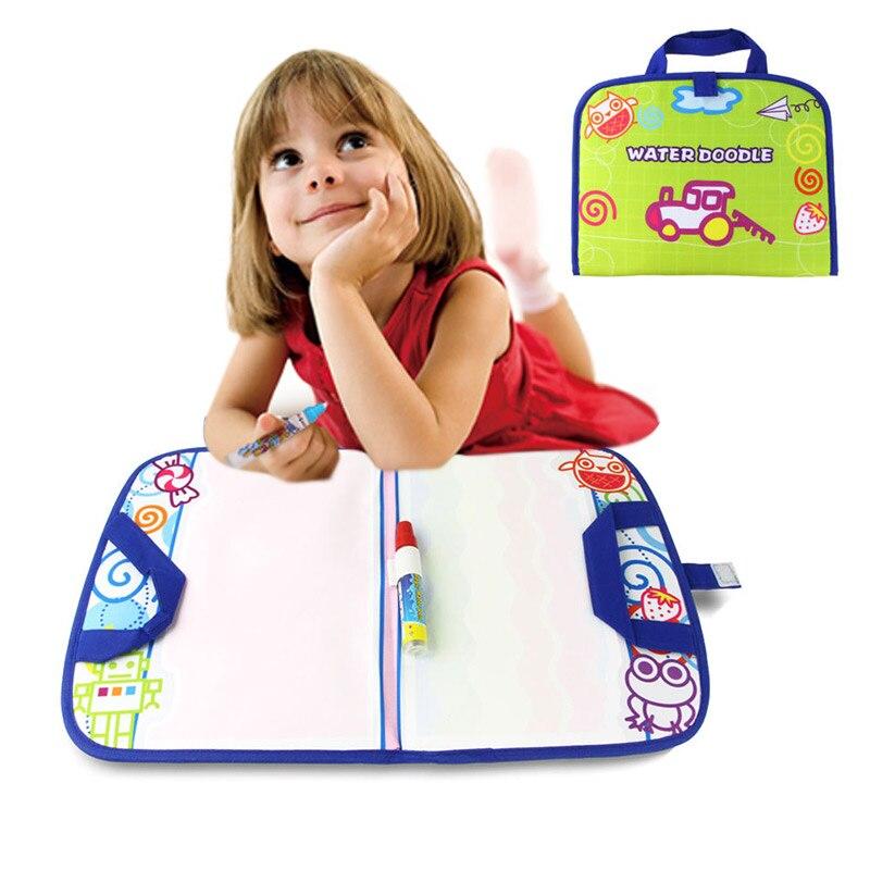 Дети магия воды холст Одеяло написать Pen сделать сумочку Творческий каракули для раннего детские игрушки играть 88 AN88
