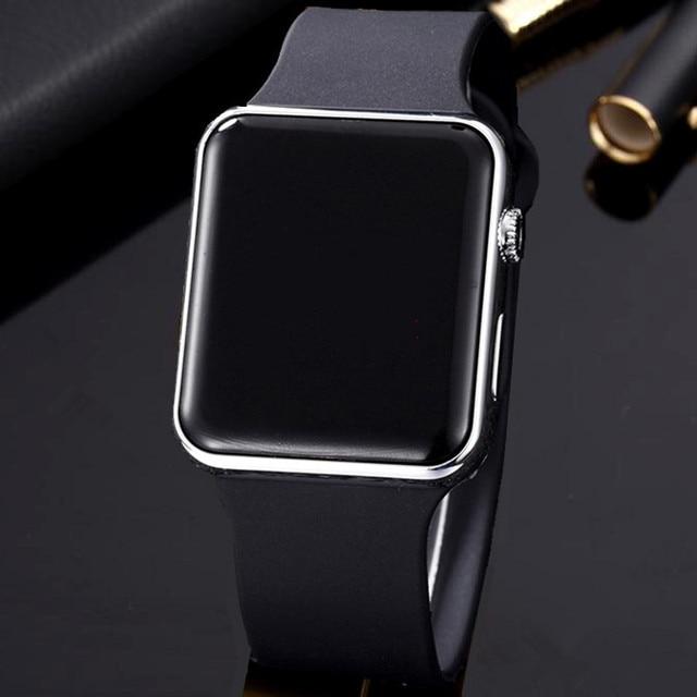 ecf194884a7 Homens LED Digital Sports Relógios Pulseira De Borracha Masculino Militar  Relógio de Pulso dos homens Relógio