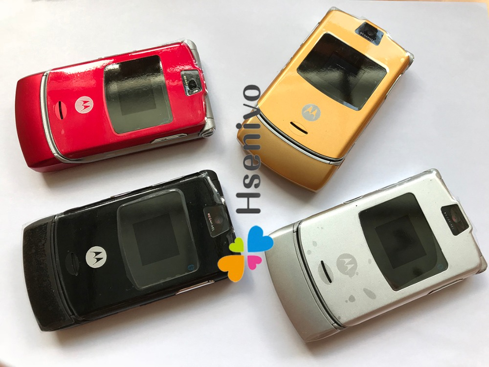 Image 4 - 100% Good Quality Original Motorola Razr V3 mobile phone one year warranty refurbished Free shipping-in Cellphones from Cellphones & Telecommunications