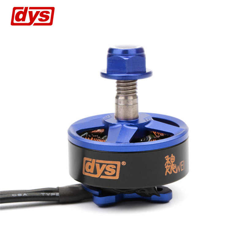 DYS Samguk Series Wei 2207 2300KV 2600KV 3-4 S Motor sin escobillas para RC juguete modelo multicóptero piezas de repuesto