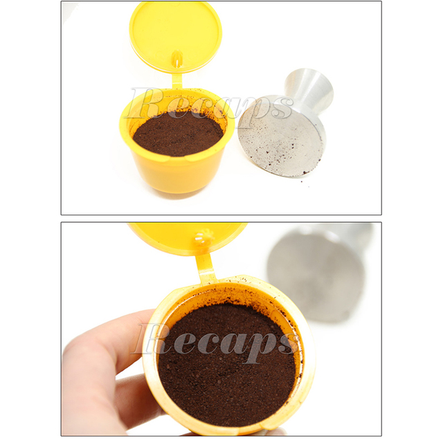 3pcs/pack Refillable Dolce Gusto coffee Capsule nescafe dolce gusto reusable capsule dolce gusto capsules dolce gusto refill