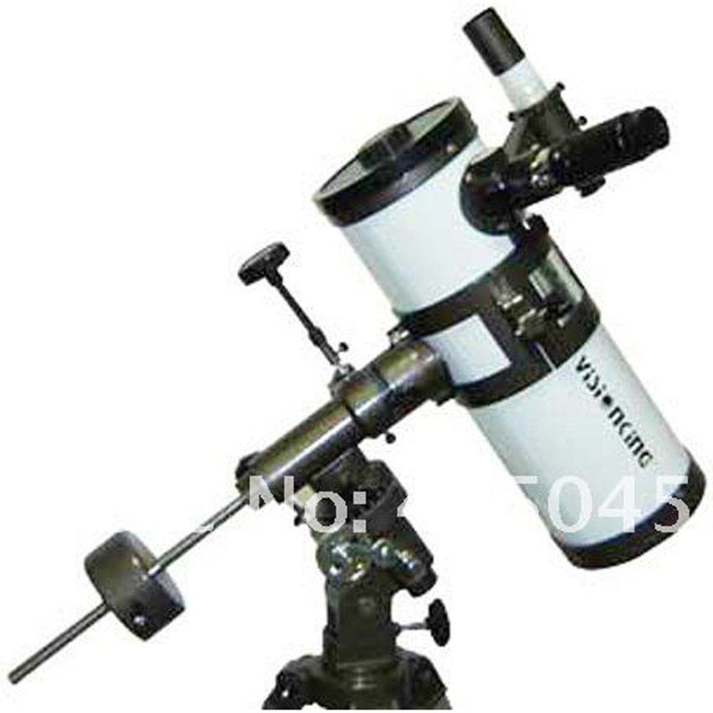 Visionking 114 / 1000mm EQ Equatorial Mount Space Astronomical Telescope With Tracking Motor Astronomy Telescope High Quality visionking 150750 150 750mm 6 equatorial mount space reflector astronomical telescope