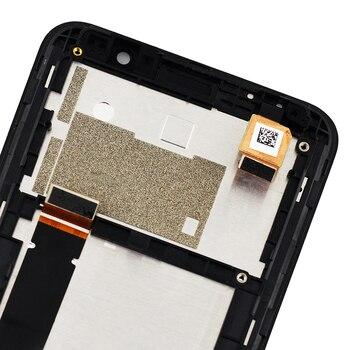 الأصلي 5.5 ''ل ASUS Zenfone الذهاب التلفزيون ZB551KL X013D X013DB شاشة الكريستال السائل مجموعة المحولات الرقمية لشاشة تعمل بلمس استبدال مع الإطار