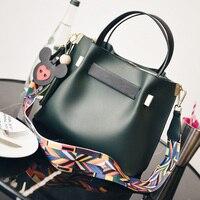 High Quality Fashion PU Leather OL Women Messenger Bag Crossbody Bag Ladies Composite Bags Sac A Main Bolsos Femme 734