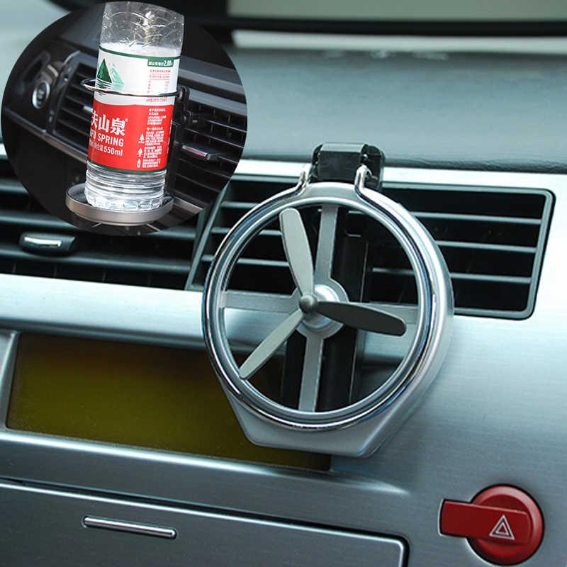 Universal plegable aire acondicionado entrada coche bebida soporte coche bebida botella taza coche marco para camión camioneta bebida