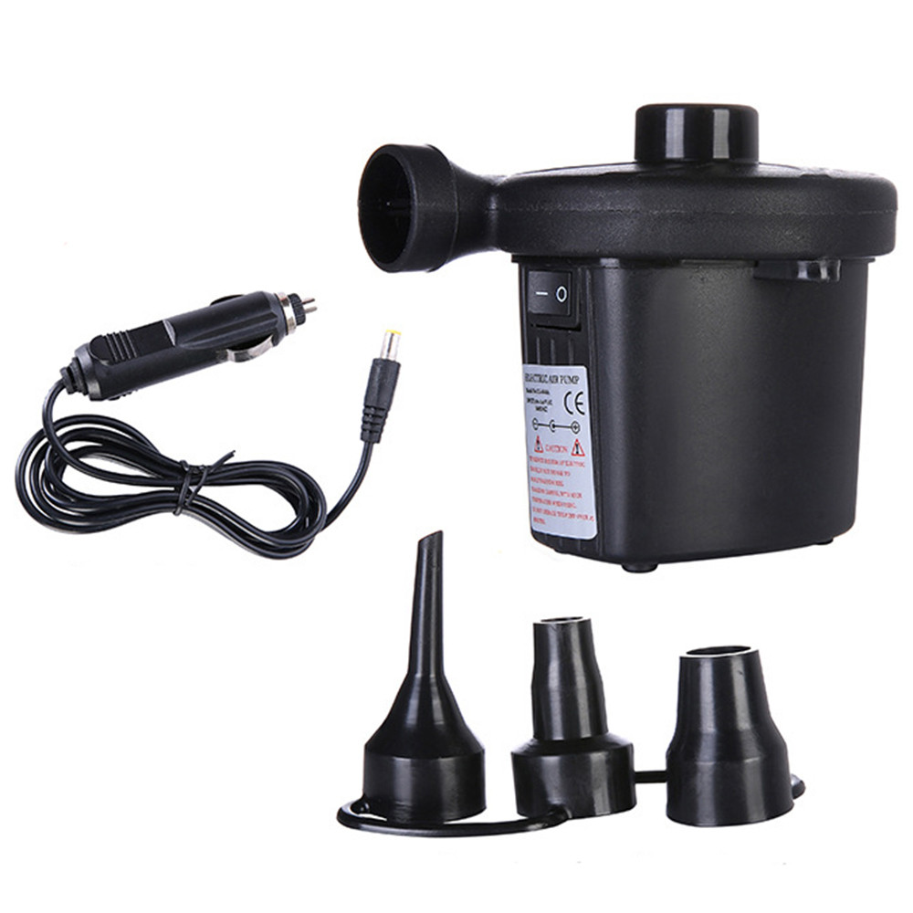 Electric Air Pump 12V Car Inflatable Pump for Boat car balls air cushions camping dropship m22(China)
