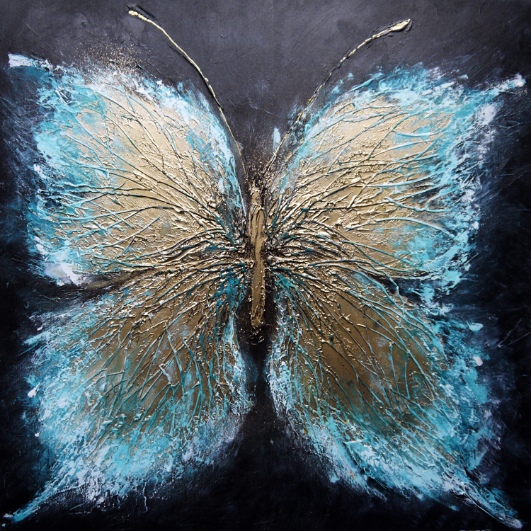 Popular Butterfly Paintings on Canvas-Buy Cheap Butterfly ...