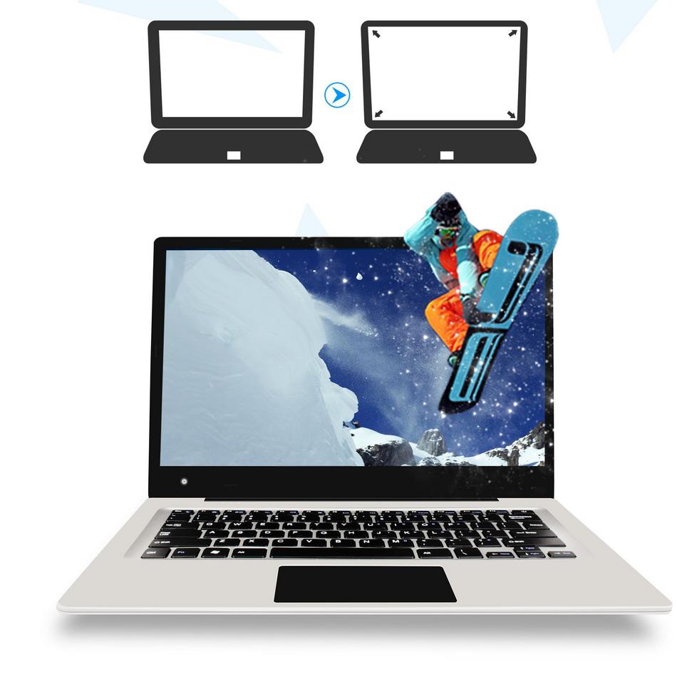 Jumper EZbook 3 Laptop Intel apollo N3350 14 Inch Windows 10 Narrow Frame notebook computer 1920x1080 FHD 4GB 64GB ultrabook (5)