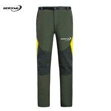 Men Outdoor Sport Hiking Pants Hunting Climbing Trekking Trousers Camping Cycling Waterproof Fishing Shooting Softshell