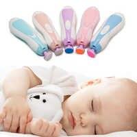 Детские ножницы для ногтей, набор милых кусачек для ногтей, триммер для новорожденных, детские ножницы для стрижки ногтей, безопасные ножни...
