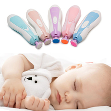 Baby Nail Scissors Set Lovely Nail Clippers Trimmer Newborn Baby Nail Clipper Safety Scissors Nail Care Suit Baby Care Products