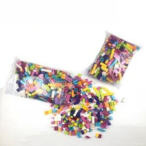 Image 5 - 1000Pcs Colorful Bricks Compatible Classic Building Blocks Bricks Kids Creative Block Toys for Children Girls Birthday Gift Toys