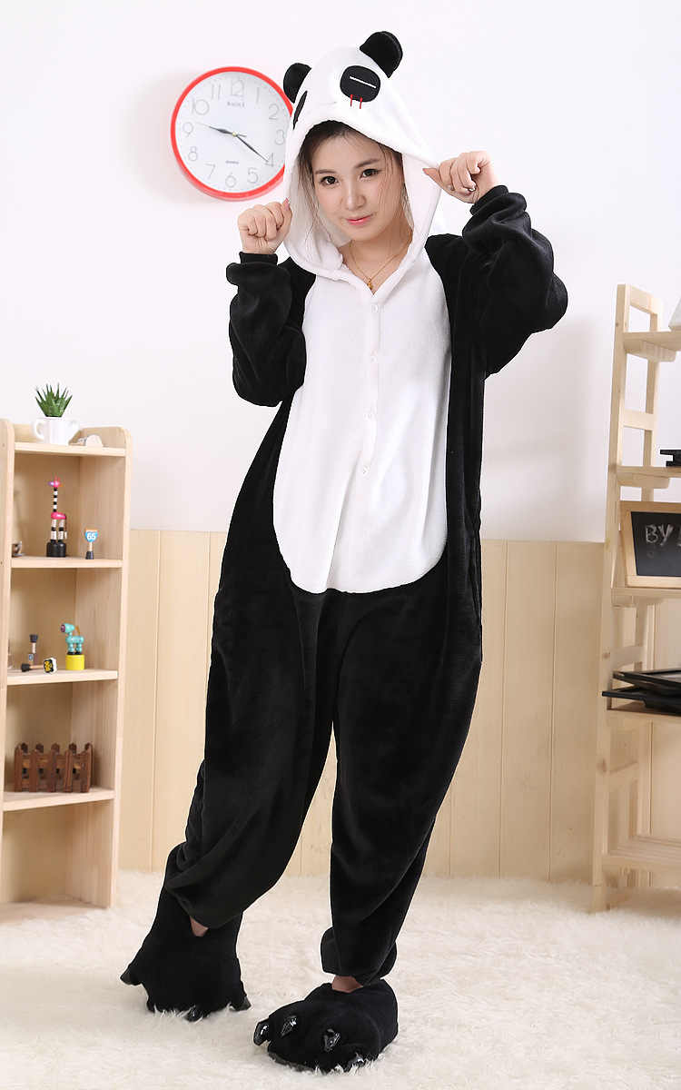 7a1006d3 Detail Feedback Questions about Panda Sleepsuit JP Anime Pajamas Panda  Jumpsuits Pyjamas Hoodies Adult Onesie Pajama Sleepwear Cosplay free  shipping on ...