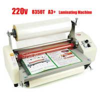 Machine de stratification chaude de petit pain de laminateur de 12th 8350T A3 + quatre rouleaux, machine de stratification à extrémité élevé de régulation de vitesse