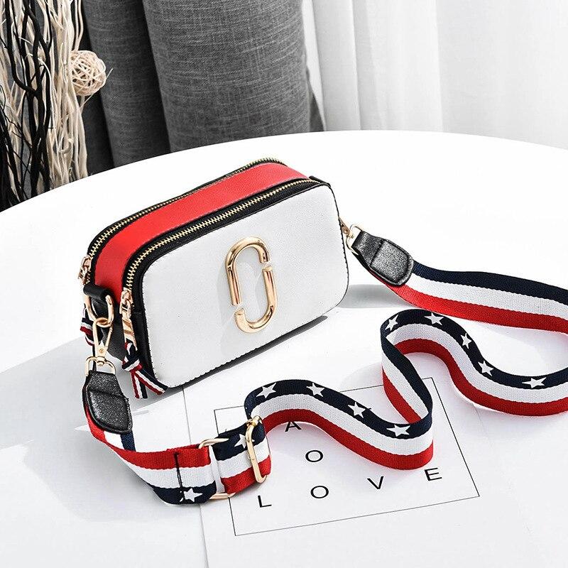 Handbag Woman Clutch-Strap Camera Messenger-Bag Bags Crossbody Pu-Bags Shoulder Small