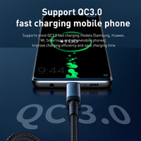 Baseus USB 3.1 Type C to USB Type C Cable for Samsung S9 S10 Xiaomi QC4.0 PD 100W Fast Charger HDMI-compatible Cable for MacBook