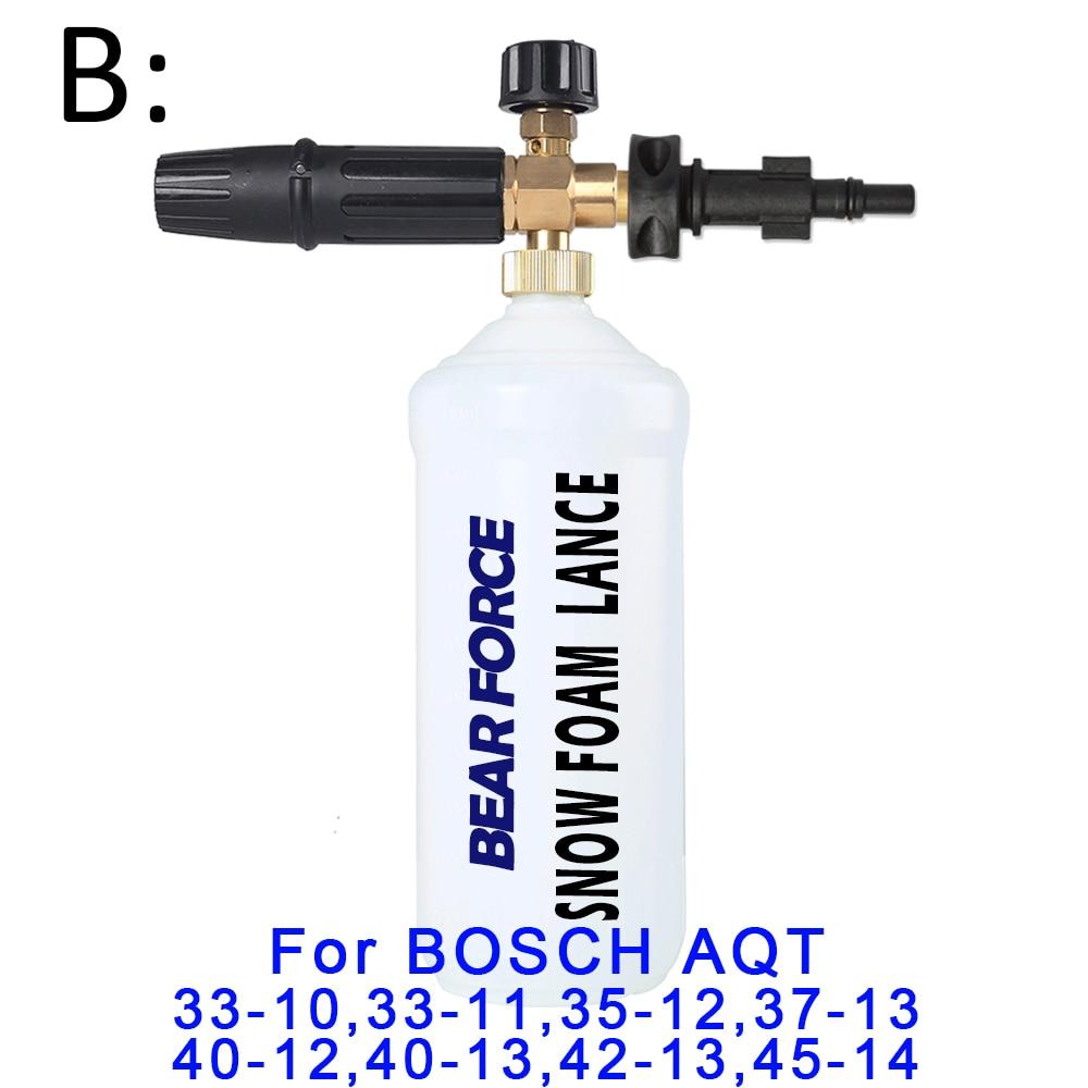 Foam Generator/ Foam Nozzle/ High Pressure Soap Foamer for BOSCHE Pressure Washer Car Washer Snow Foam Lance