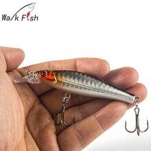 WALK FISH 1Pcs Fishing Minnow Lure 8cm 7 9g Medium Diver Tight Wobble Slow Floating 5