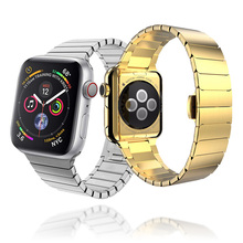 Stainless Steel watch Strap for apple watch band 44mm&for applewatch 4 band 40mm bracelet for iwatch band 38mm series 3 2 1 42mm new fabric watch strap watchband for applewatch series 1 2 38mm 42mm men women 2017 fresh green design watch band apb2548
