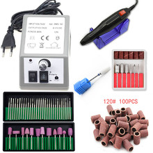 Electric Nail Drill Machine Manicure Machine Professional Nail Master 20000RPM Nail Art File Ceramic Nail Drill Bits Tools 1pcs electric nail art drill machine manicure hand piece stander bits salon home nail diy tools accessory eu plug promotion sale
