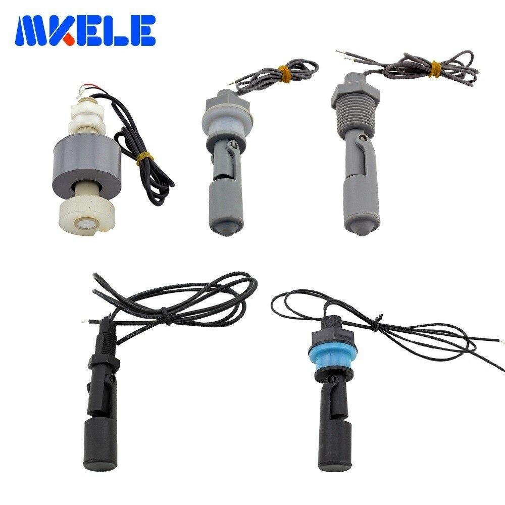 Excelente Qualidade Float Switch da Série Tanque de Água Líquida Nível Sensor Float Switch Interno 110 V/220 V PP Plástico material de Interruptor