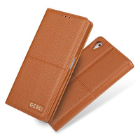 For Sony Xperia Z5 Luxury PU Leather Wallet Cover Flip Magnetic Case Mobile Phone Bag Protective