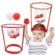 купить 2pcs Head Basketball Hoop+40pcs Balls Adjustable Head Hoop Game Shooting Ball Outdoors Sport Children Kids Educational Toys Game по цене 1072.06 рублей