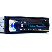 Rádio Do Carro de Rádio Auto 1 12 v Bluetooth De Áudio Estéreo Do Carro In-dash Din FM Receptor de Entrada Aux SD USB MP3 MMC WMA(China)
