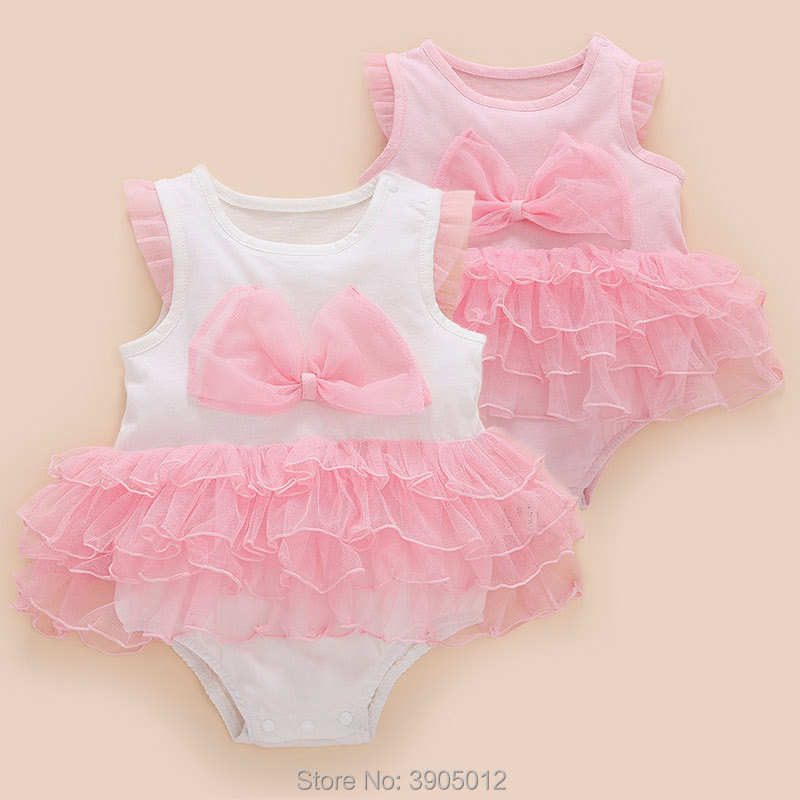 2018 Sale O-neck Fashion Twins Body Newborn Baby Clothes Summer 3 Months Thin Section 0 1 Year Old Sleeveless Free Shipping