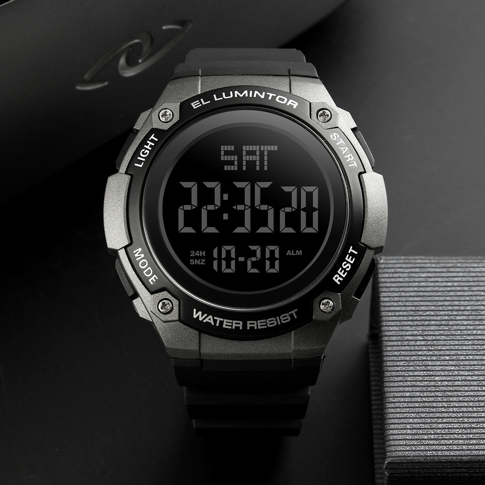 SKMEI Mens Watches New Fashion Casual Waterproof LED Digital Outdoor Sp