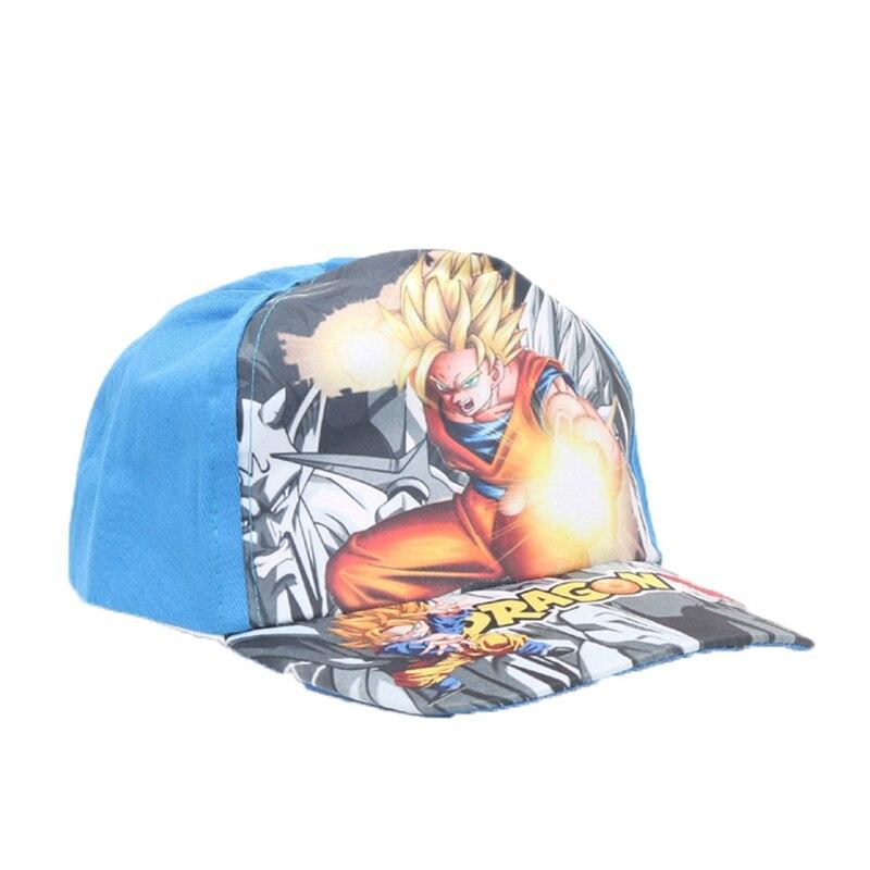 2018 Uomini Di Modo Del Ragazzo Berretto Da Baseball Figlio Goku Vegetto Regolabile Hip-hop Dragon Ball Cappello Di Snapback Z Super Saiyan Per I Bambini Vendite Economiche 50%