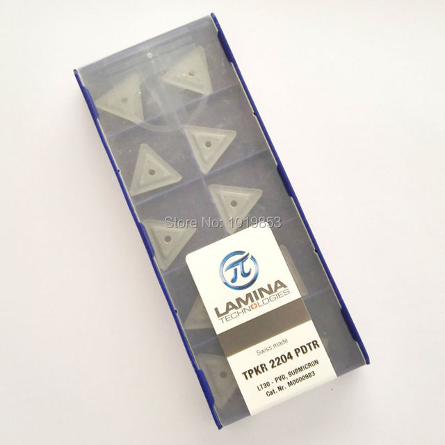 TPKR2204 PDTR LT30 carbide inserts for milling cutter CNC machine