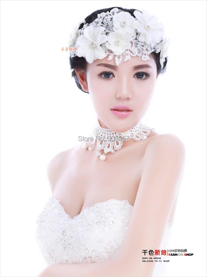Wholesale Headband Flower Headpiece Wedding Hair